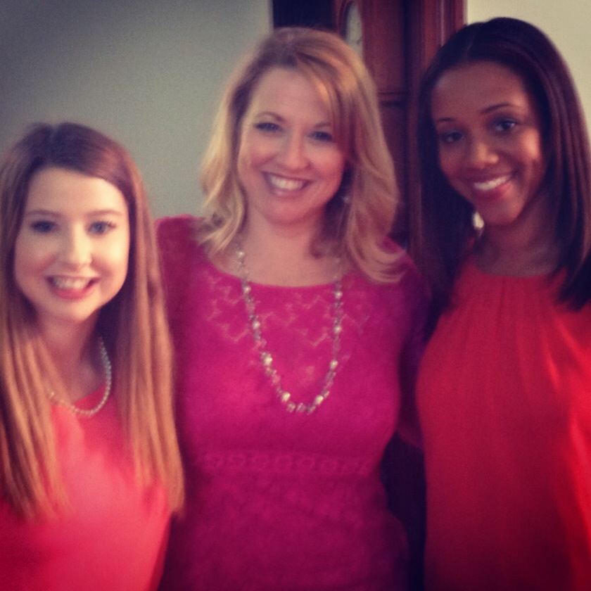 Livi, Kelly, and Chrystee Pharris,