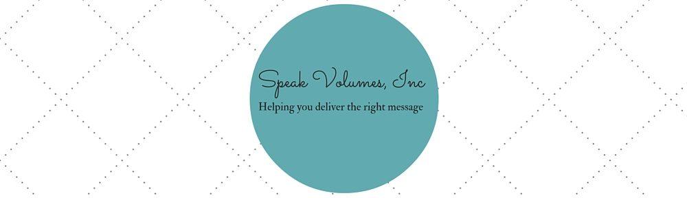Speak Volumes, Inc.
